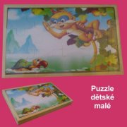 Puzzle - Opice strom.