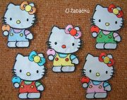5-pack koikov naehlovaky-nivky HELLO KITTY