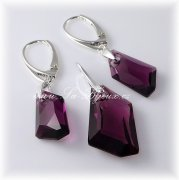 Swarovski Elements De-Art 18 + 24mm,  Amethyst