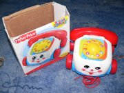 Tahací telefon od Fisher Price