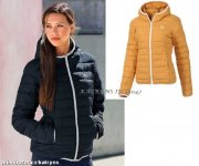 adidas SLIM PADDED HOODED JACKET....M30408