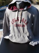 LONSDALE mikina s kapucou vel. S,  M,