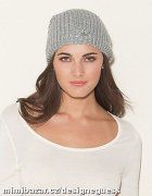 -Sequined Slouchy Hat