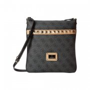 Kabelka GUESS Logo Remix Petite Crossbody Flap