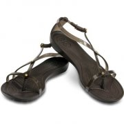 CROCS REALLY SEXI SANDAL W8 38-39 / ESPRESSO