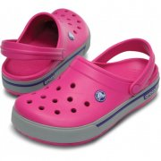 CROCS CROCBAND II.5 CLOG W7 37-38 /  Fuchsia/Light