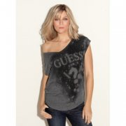 Top GUESS CAP SLEEVE ETERNITY GUESS TEE