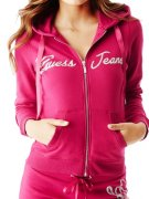 GUESS mikina Allyson Zip-Up Hoodie S,  M,  L
