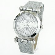 GUESS Women´s Silver Glitter Watch
