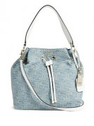 Kabelka GUESS Juliana Bucket Bag in Denim