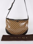 Kabelka GUCCI - GG Crystal Medium Messenger