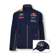 RED BULL RACING softshellová bunda  +  čepice