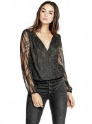 Dámský Top GUESS Camron Lace Surplice