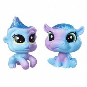 Littlest Pet Shop Duhový set HROCH A OPIČKA