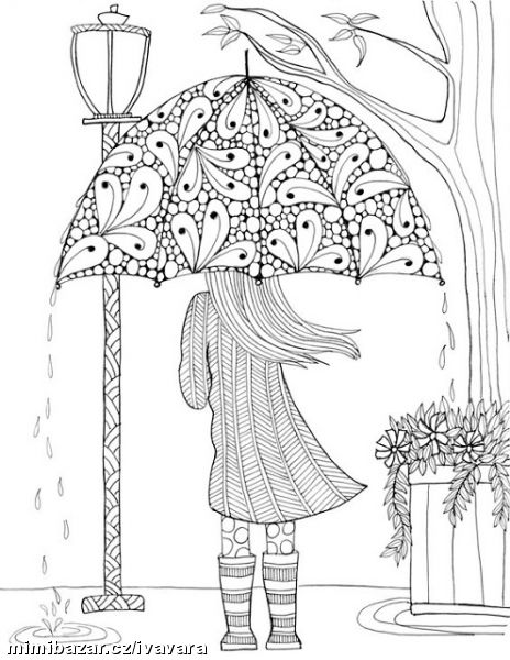 Free Coloring Pages For Adults Pinterest : ANTISTRESOVE OMALOVaNKY PODZIMNi Mimibazar.cz