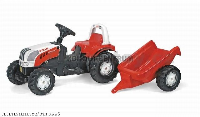 STEYR ROLLY KID s vlekem 2,5-5 let 100kg !!!!!!!!