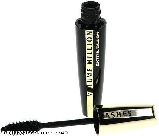 Volume Milion Lashes Mascara Extra Black řasenka