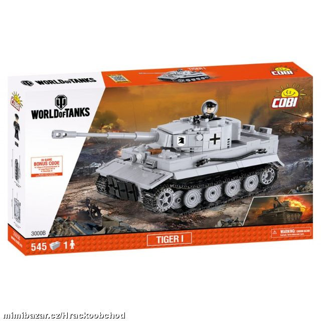 WORLD of TANKS Tank Tiger 1 - staveb. COBI 3000B