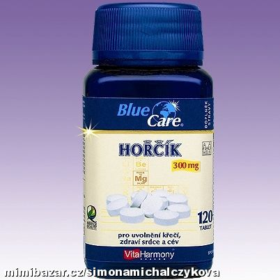 Hořčík 300 mg - 120 tablet