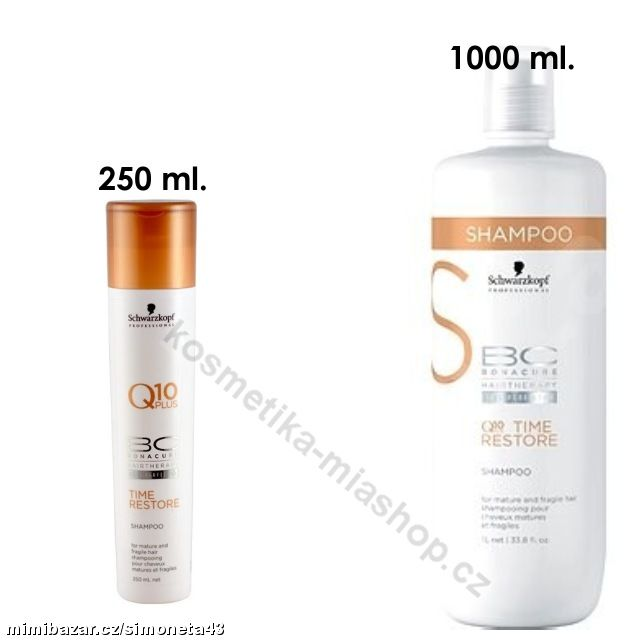 BC Cell Perfector Q10 Time Restore šampon
