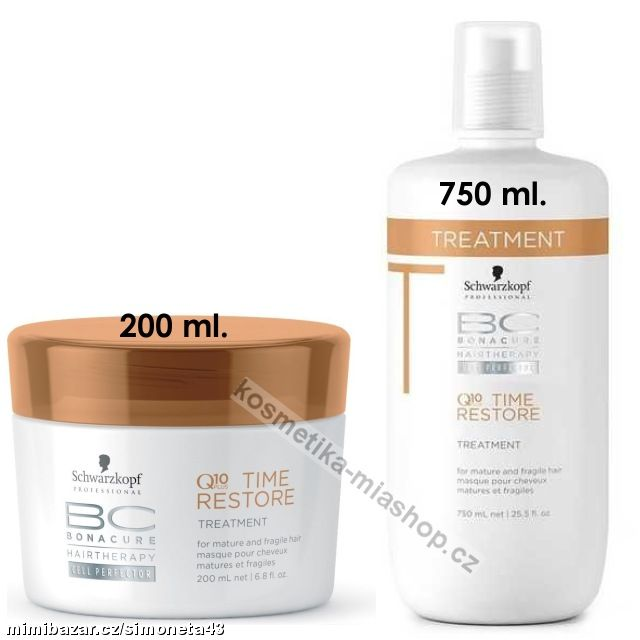 BC Cell Perfector Q10 Time Restore Treatment kůra