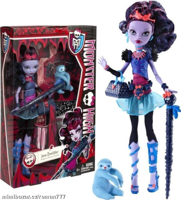 MONSTER HIGH JANE BOOLITTLE BLW01