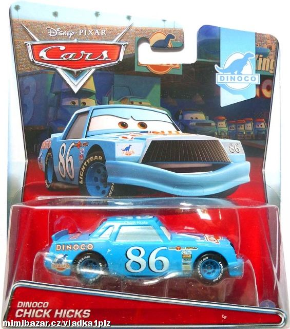 DISNEY CARS DINOCO CHICK HICKS
