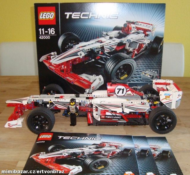 prod m lego technic 42000 formule f1 grand prix zl n. Black Bedroom Furniture Sets. Home Design Ideas