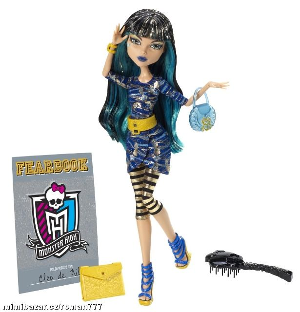 MONSTER HIGH Picture Day CLEO DE NILE Y8500