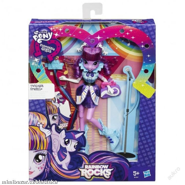 MY LITTLE PONY EQUESTRIA GIRLS ROCKS TWILIGHT