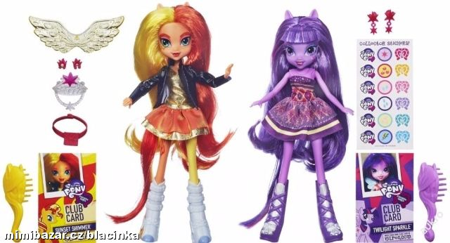 MY LITTLE PONY EQUESTRIA GIRLS SUNSET A TWILIGHT