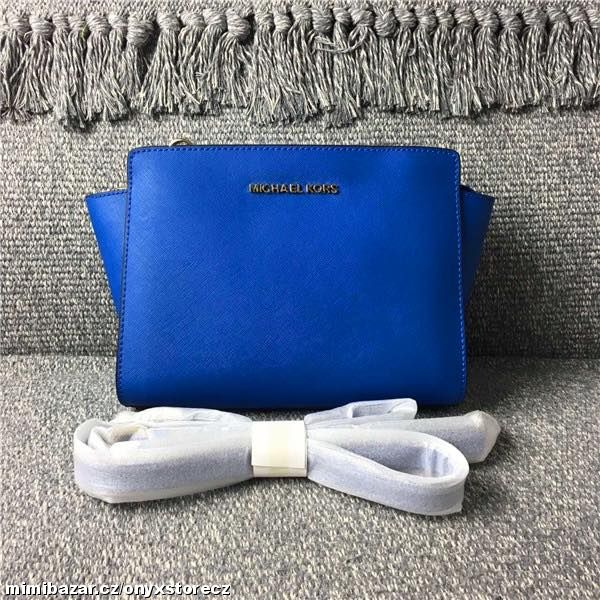 Prodám - Michael Kors Selma mini crossbody Eletric blue 298c439c43e