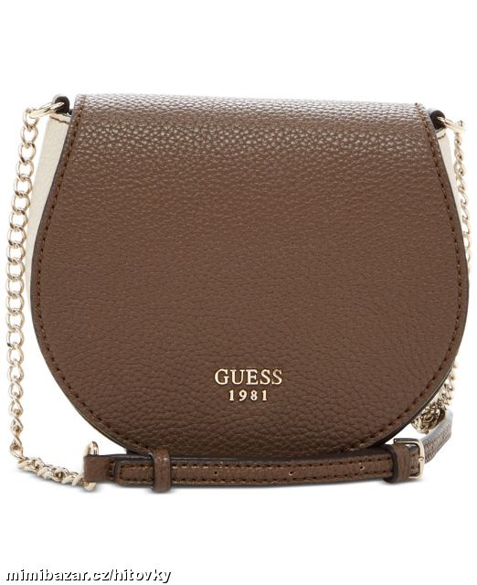 Prodám - Kabelka GUESS Cate Mini Saddle Crossbody Bag caffff577bf