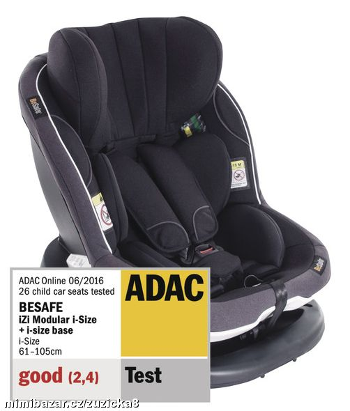 Autosedačka Be Safe iZi Modular Midnight Black 01