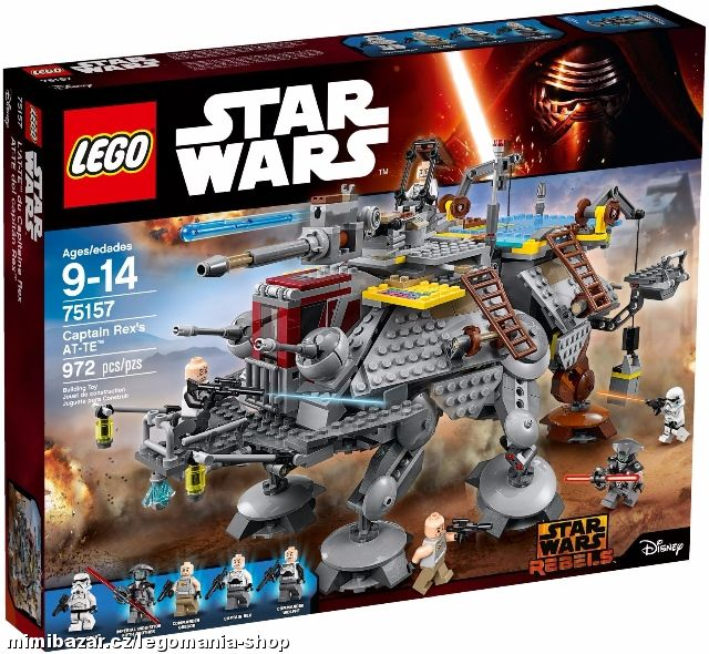 LEGO Star Wars 75157 AT-TE kapitána Rexe.