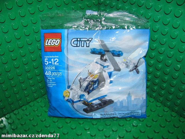 Lego, City 30226 Police Helicopter