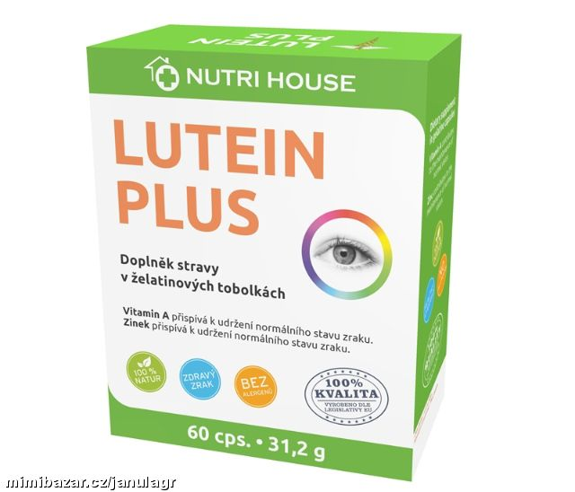 Lutein Plus 60 cps.-31,2 g