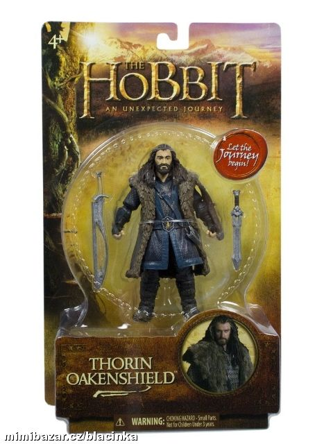 THE HOBBIT FIGURKA THORIN OAKENSHIELD 10cm