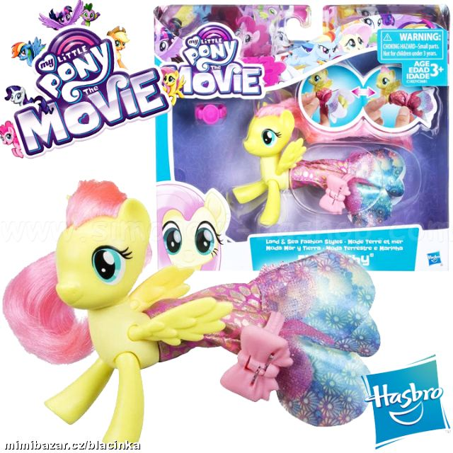 MY LITTLE PONY MOVIE MOŘSKÝ KONÍK FLUTTERSHY