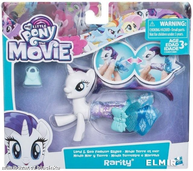 MY LITTLE PONY MOVIE MOŘSKÝ KONÍK RARITY