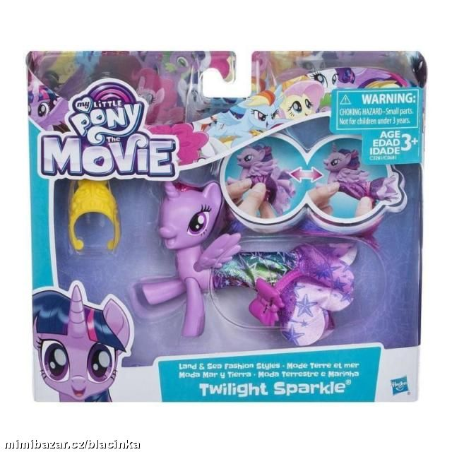 MY LITTLE PONY MOVIE MOŘSKÝ KONÍK TWILIGHT SPARKLE