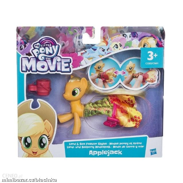 MY LITTLE PONY MOVIE MOŘSKÝ KONÍK TWILIGHT APPLEJA