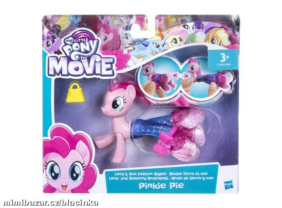MY LITTLE PONY MOVIE MOŘSKÝ KONÍK PINKIE PIE