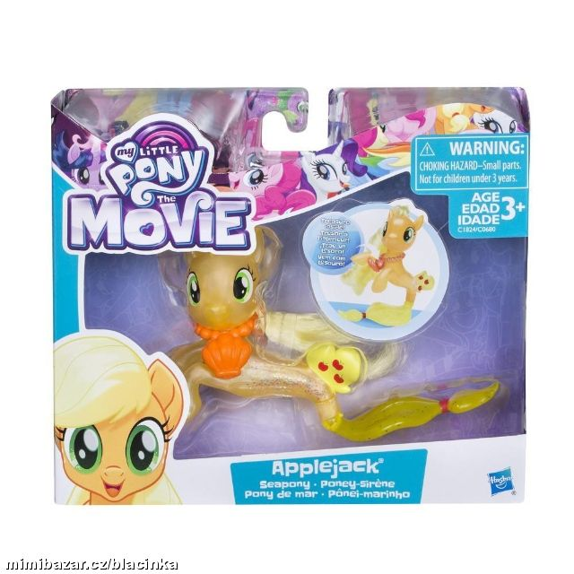 MY LITTLE PONY MOVIE MOŘSKÝ KONÍK APPLEJACK
