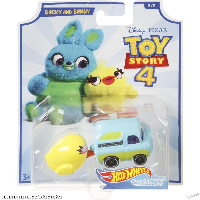 HOT WHEELS TOY STORY 4 - DUCKY AND BUNNY
