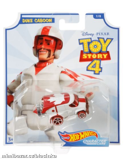 HOT WHEELS TOY STORY 4 AUTÍČKO DUKE CABOOM