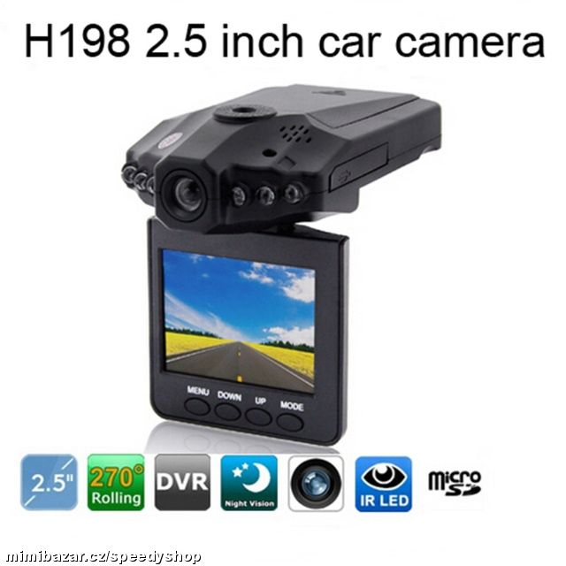 @@@ Kamera do auta HD DVR 2.5 LCD @@@