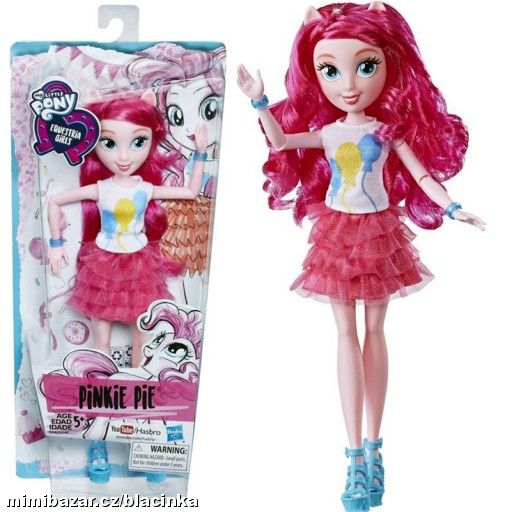 MY LITTLE PONY PANENKA Equestria Girls PINKIE PIE