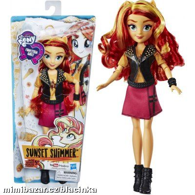 MY LITTLE PONY PANENKA Equestria Girls SUNSET SHIM