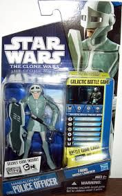STAR WARS CLONE WARS MANDALORIAN POLICE OFFICER